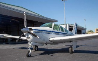 BEECHCRAFT/F-33A BONANZA (IO-550) - Click to View Pictures